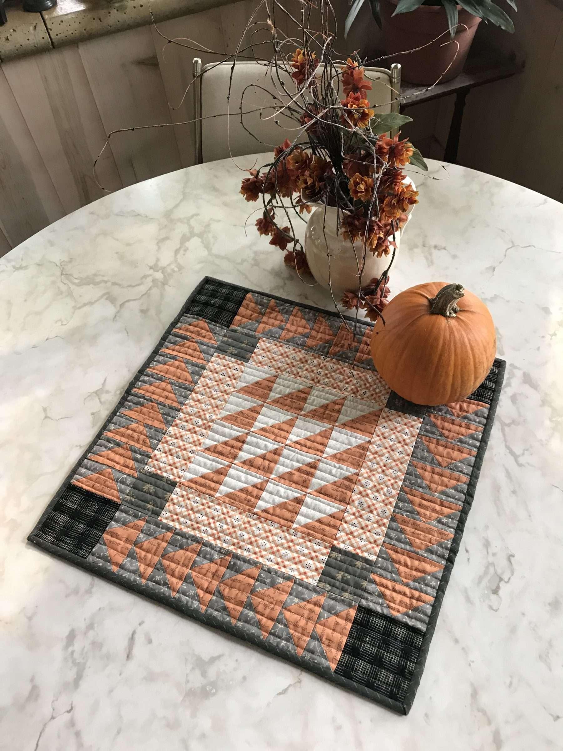 Pumpkin Spice  Mailed Pattern